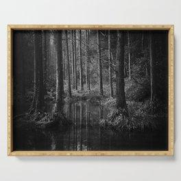 Dark Forest Serving Tray