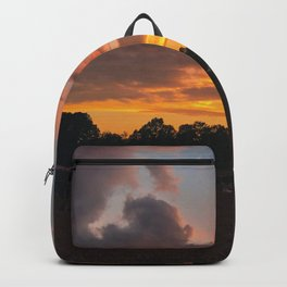 Sunset at Jubilee and the Hanger Backpack