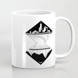 City by the Mountains Coffee Mug