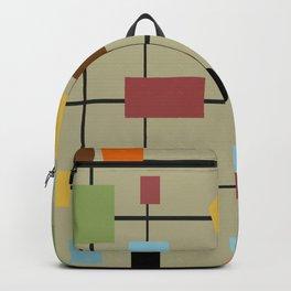 Modern Art Abstract 29/2 Backpack