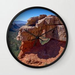 Merry Go Round Arch Sedona AZ Wall Clock