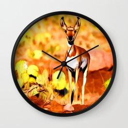 Roe Deer for Animal Lover Wall Clock