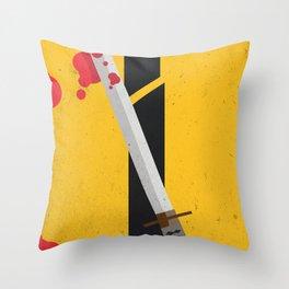 KILL BILL Tribute Throw Pillow