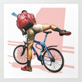 Hot Ride Kunstdrucke