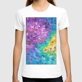 Rainbow Abstract T-shirt