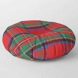 Christmas Plaid Tartan Pattern Floor Pillow