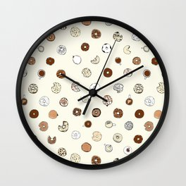 Donut You Want Some 02 Wall Clock