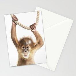 Baby Orang-Utan Stationery Cards