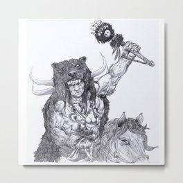 Berserk warrior Metal Print