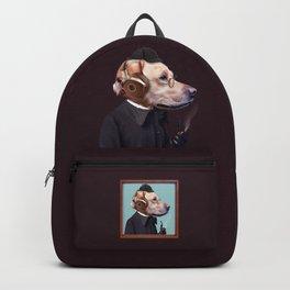 Dog Sherlock Holmes Backpack