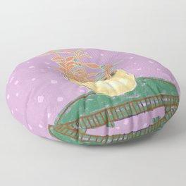 Plant Study I Floor Pillow
