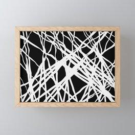 Grounded Figure Framed Mini Art Print