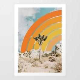 Desertscape Art Print
