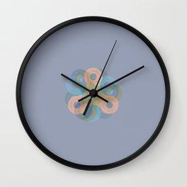 Spinner - Cyan Wall Clock