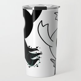 Hollow Knight The Void that Fills the Knight Travel Mug