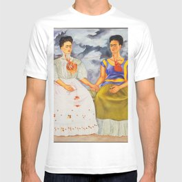 Two fridas art T-shirt