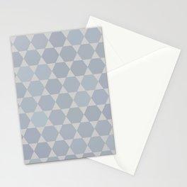 Star Of David   Modern Geometry Stationery Cards