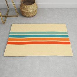 Ienao - Classic 70s Retro Stripes Rug
