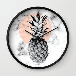 Marble Pineapple 053 Wall Clock