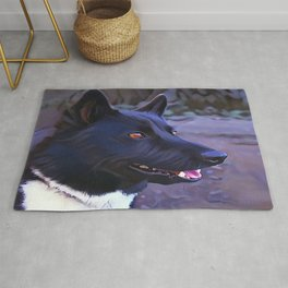 Karelian Bear Dog Rug