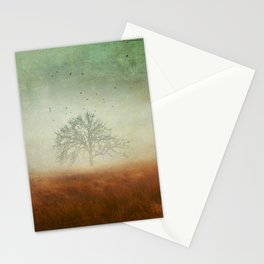 evolving mystery Stationery Cards