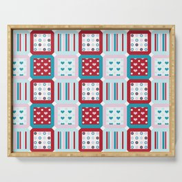 Charms Quilt Serving Tray
