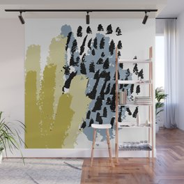 Hand drawn vector design Wall Mural