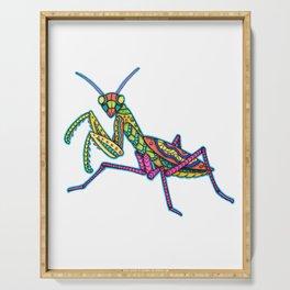 Manti the Praying Mantis Serving Tray