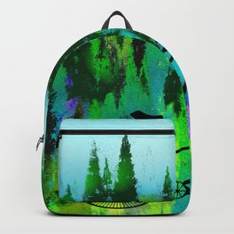 Biking in the Forest Backpack