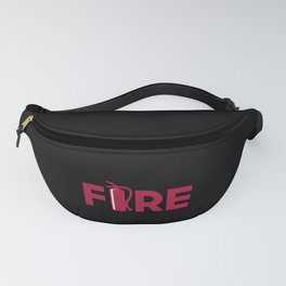 Fire Extinguisher Firefighter Graduation Junior Fanny Pack