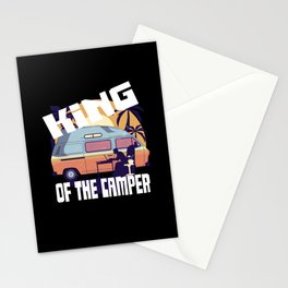 The Camping König Caravan Campsite Stationery Cards