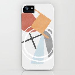 Simple twist - minimalist style chain iPhone Case