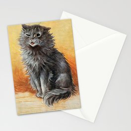 """Second Prize"" by Louis Wain Stationery Cards"