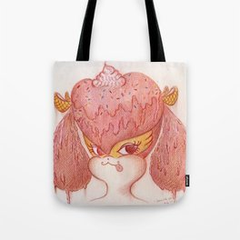 Melted Buffy Tote Bag