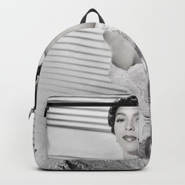 Dorothy Dandridge, Hollywood Starlet black and white photograph / black and white photography Backpack