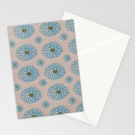 Blue is the warmest color Stationery Cards