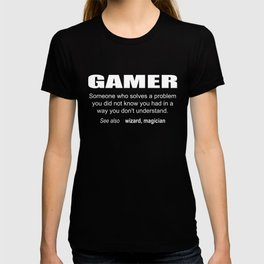 Gamer Description T-shirt