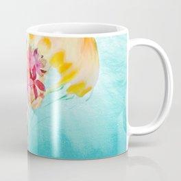 Jellyfish with Flowers Coffee Mug