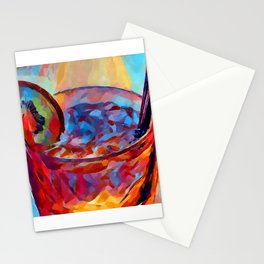 Cocktail Watercolor Stationery Cards