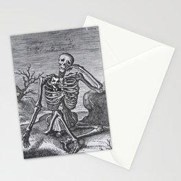 MORS CERTA HORA MORTIS INCERTA Stationery Cards