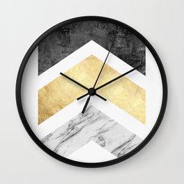 Scandinavian composition IV Wall Clock