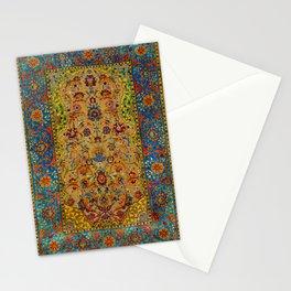 Hereke Vintage Persian Silk Rug Print Stationery Cards