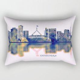 Canberra Skyline Rectangular Pillow