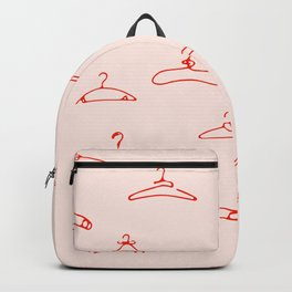 Hanger red Backpack