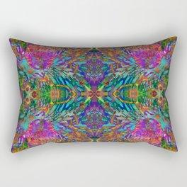 Buddha 5 geometry III Rectangular Pillow