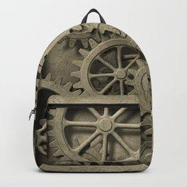 Steampunk Cogwheels Backpack
