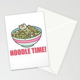 I Love Noodle Kawaii Artwork Stationery Cards