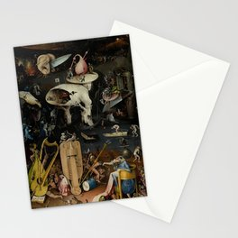 Hieronymus Bosch - The Garden of Earthly Delights - Panel 3 Stationery Cards