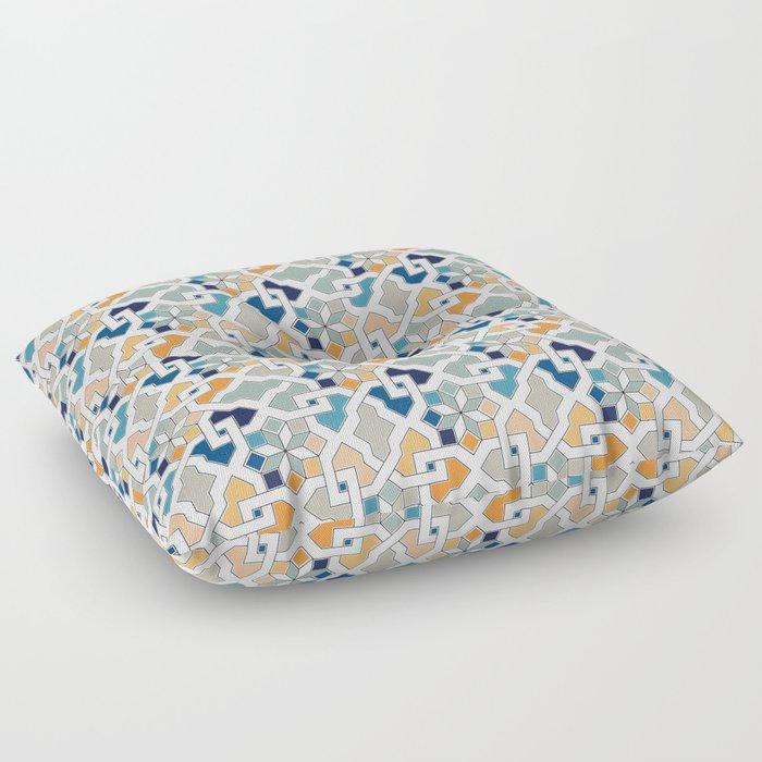 Oriental Design Floor Pillow By Ohaniki
