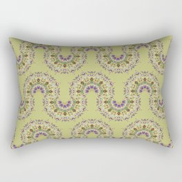 Floral Mandala pattern 1.2d Rectangular Pillow